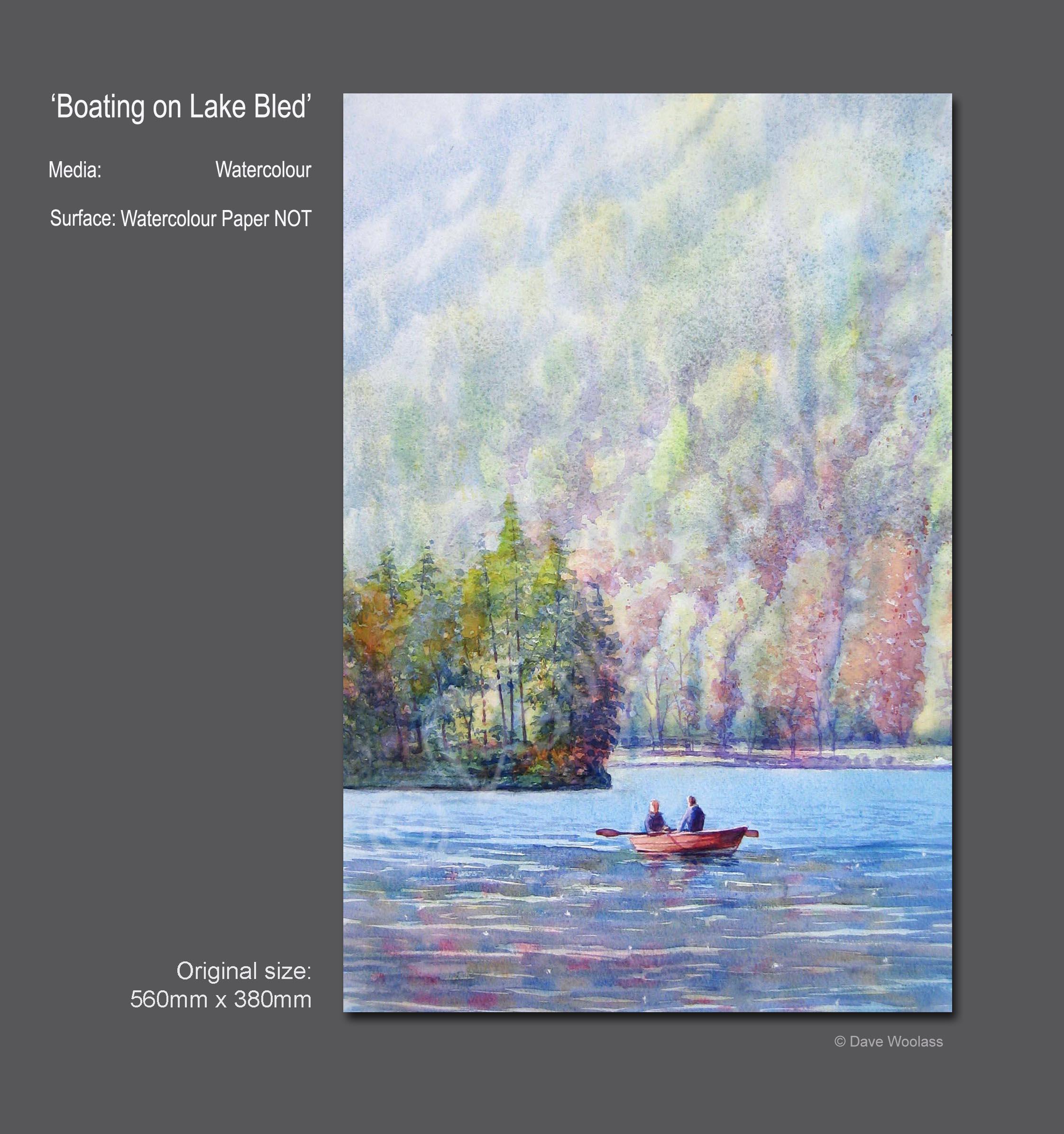 Boating on Lake Bled